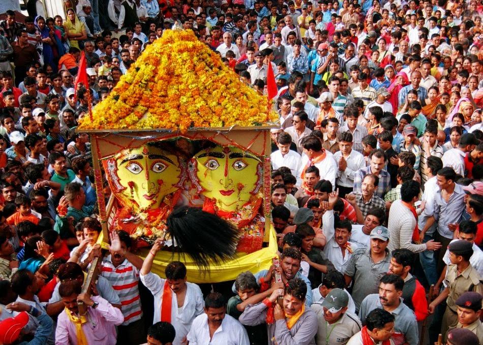 Mussoorie in India