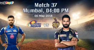 Live IPL 2018 Match