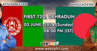 Afghanistan Vs Bangladesh First T20 Live