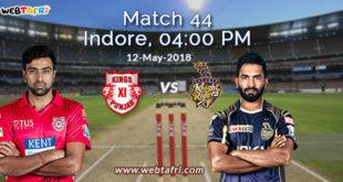 IPL Match 44 Live Score