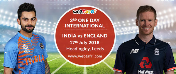 Live Final England vs India