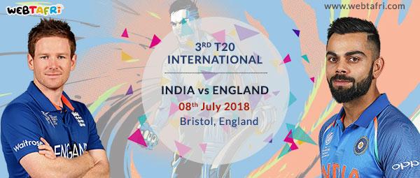 3rd T20 Live Scoreboard