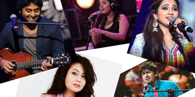 top 10 bollywood singers