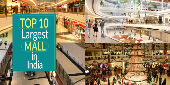 top 10 malls in India