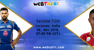 India Vs West Indies T20I