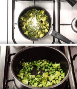 Beetroot Dal & Matar Broccoli Pulao