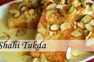 Shahi Tukda Indian Dessert recipe