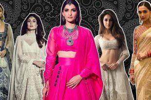 Fashion Divas and their Stunning Lehangas