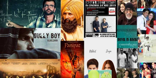 New Hindi Movei 2018 2019 Bolliwood: Top 10 Most Awaited Bollywood Movies Of 2019