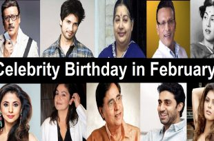 Bollywood Celebrities Birthday Date