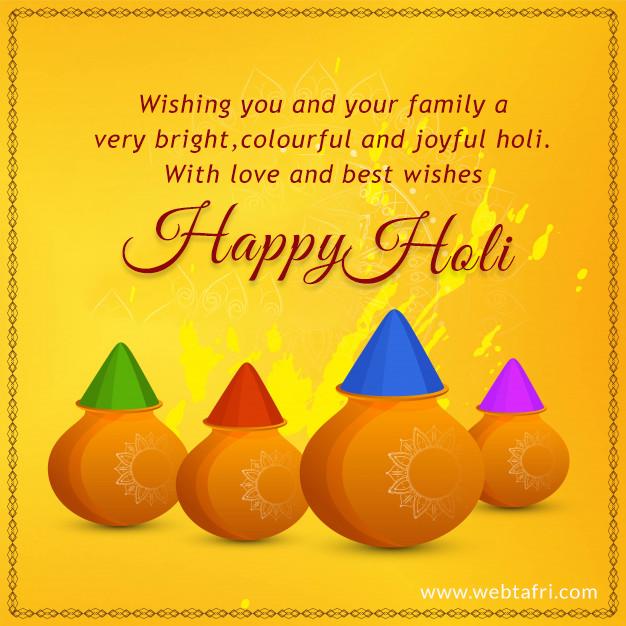 Holi images & wishes