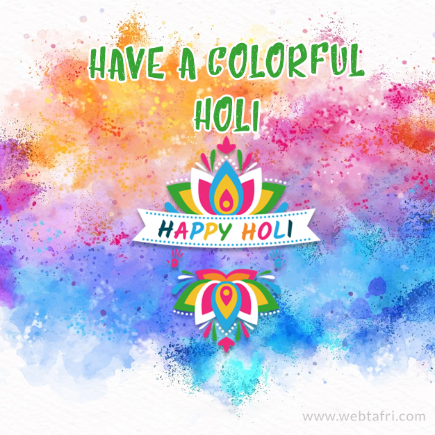 Holi images & wishes