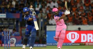 IPL live score MI vs RR