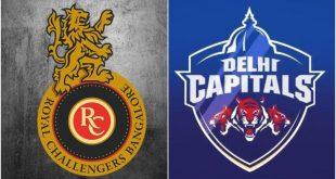 IPL live score rcb vs dc