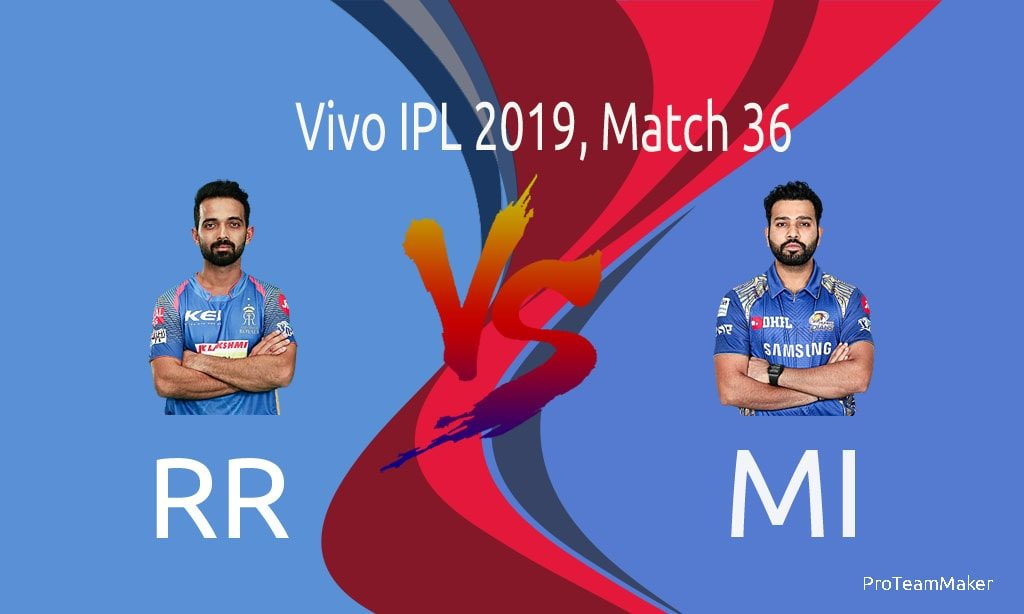 IPL 2019 palyed matches