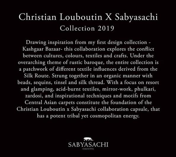 Sabyasachi show