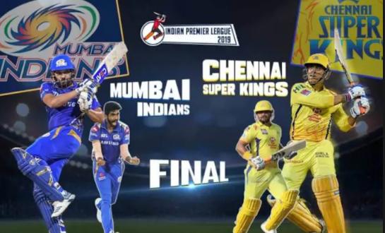 IPL live score 2019 Finale match