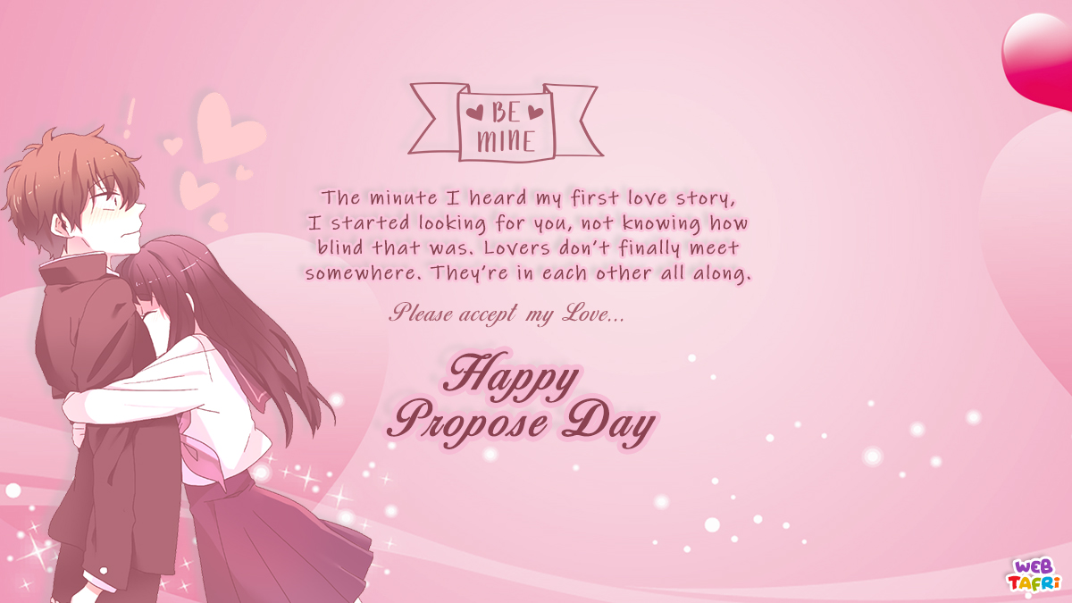 propose day images & wishes